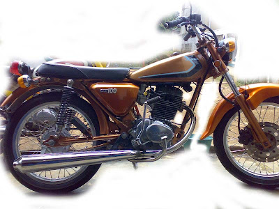 Modification of Honda CB 100 1976 Terbaru 2013