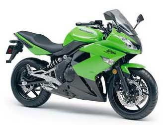 Auto motor Kawasaki Ninja 400R