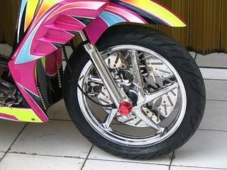Modifikasi Honda Vario Modif POSER - Specifikasi :