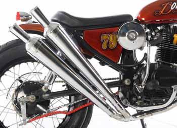 Honda CB100 1974 (Jakarta) Modification Japanese style