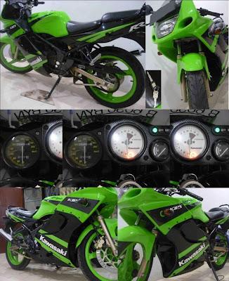 Kawasaki Ninja 150 RR 2009 GREEN For Sale - Classic and Vintage ...