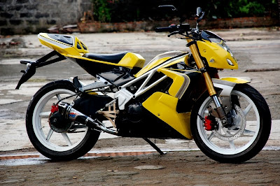 Modifikasi Motor Jupiter Mx Tahun 2006