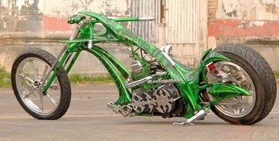 Modif trend Kawasaki Binter Merzy green Anaconda