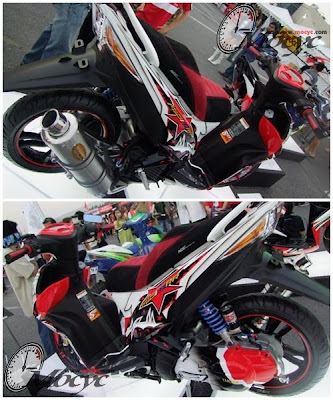 Sport Racing Yamaha Xeon 125 Modif