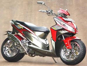 Minimalist Modify of Honda Vario CBS 2010