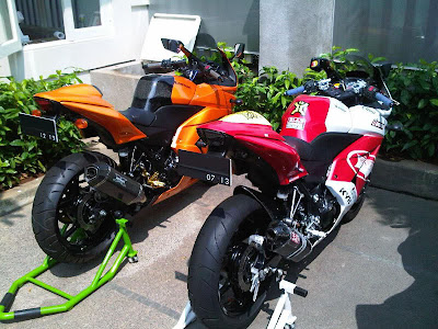 2011 KAWASAKI NINJA 250 FULL MODIF 2 UNIT