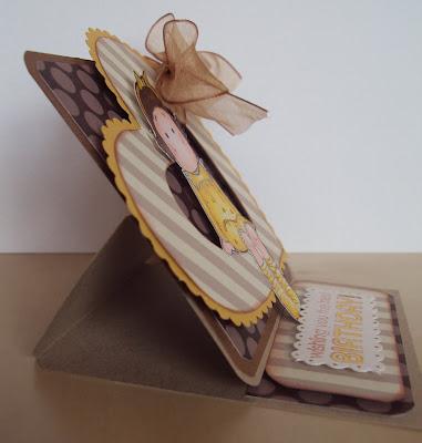 Tarjeta Easel Card Magnolia