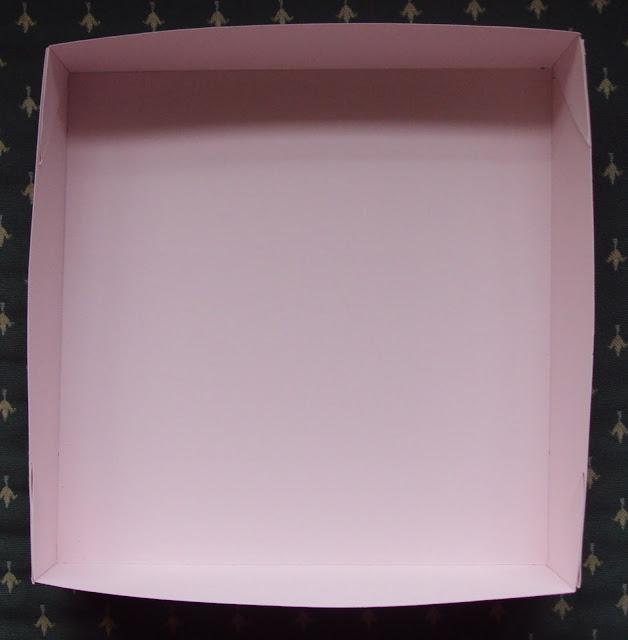 Caja para álbum niña