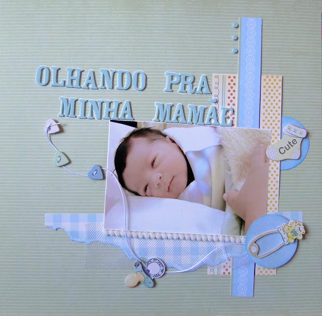 Página scrap bebé