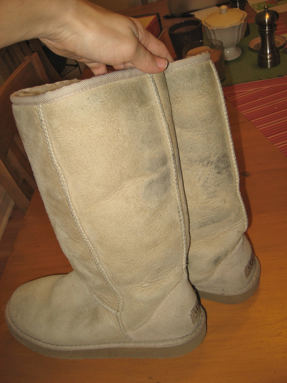 ugg cleaner at home