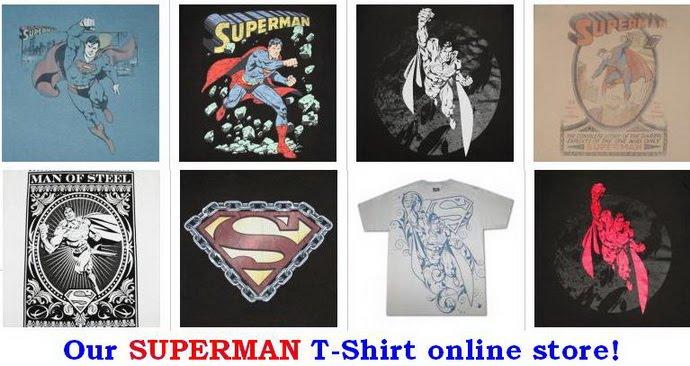 Need real Superman T-shirt ?