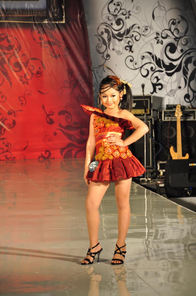 Model Baju Fashion Show Anak Modern
