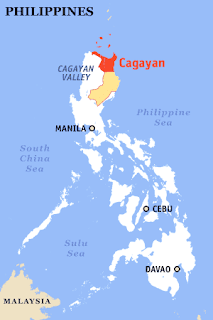 Hanshanti: Map of the Philippines (Cagayan Valley)