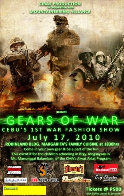 Cebu's First War Fashion Show - Gears of War