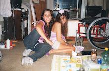 Con mi Sobrina Belén pic-nic en la Comarca.