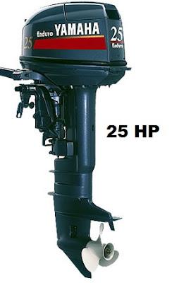 Yamaha Marine  Yamaha 25 HP 2Stroke