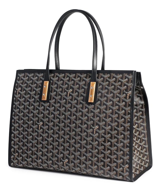 Blue celebrity shopper handbag