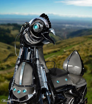 photoshop animal robot