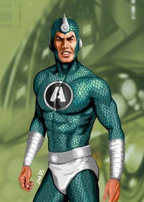 Superhero Indonesia Aquanus