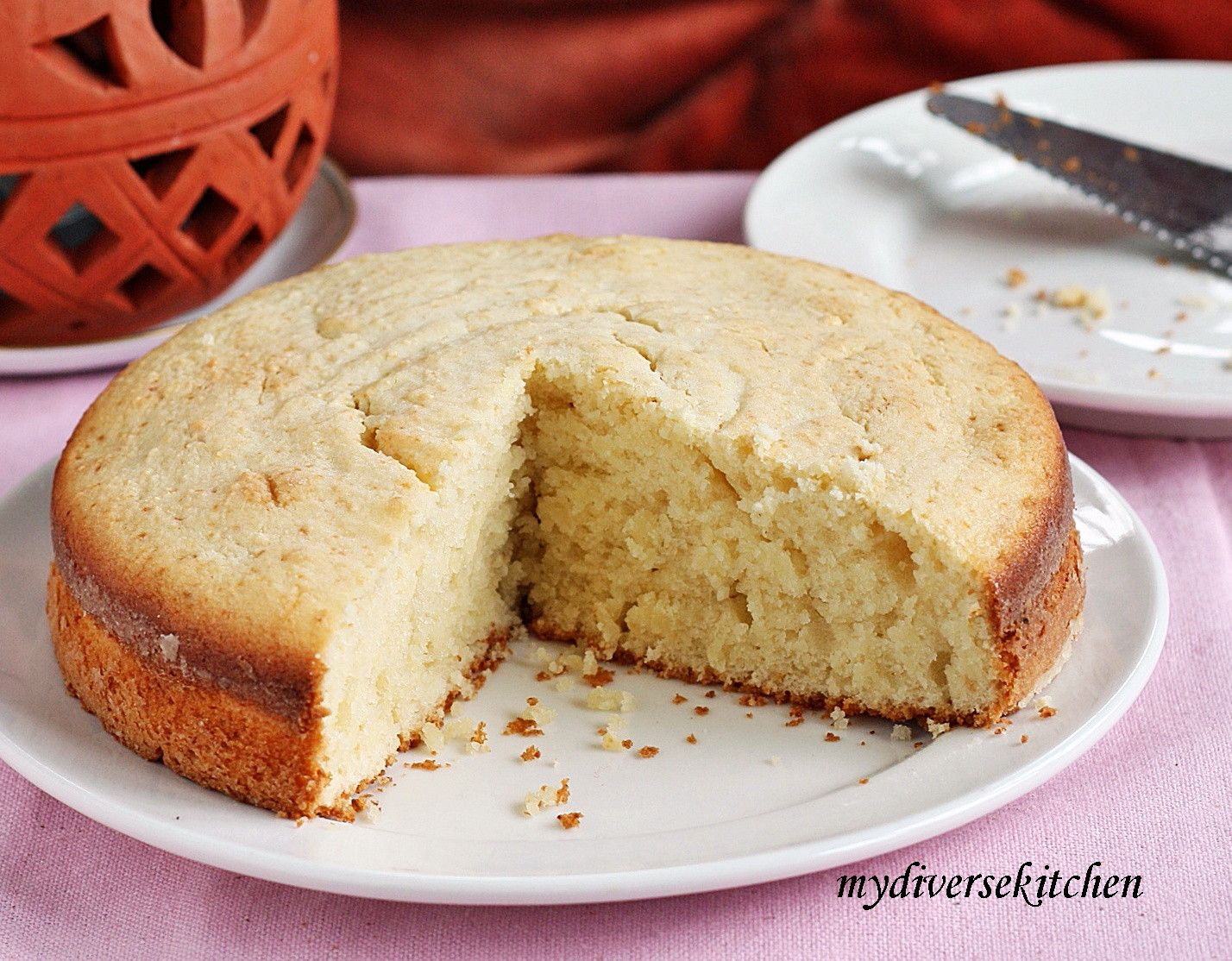 Cake Without Butter Or Baking Powder