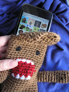 Domo Kun IPod Touch Case. Just finished.