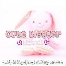 Cute Bloggers Award!!!!