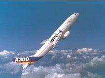 Un A-300 in 'cabrata zero gravity' a 25.000 piedi ed in completa assenza di contrails