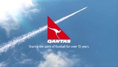 Un manifesto pubblicitario Qantas