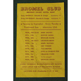 Bromel Club flyer 1965