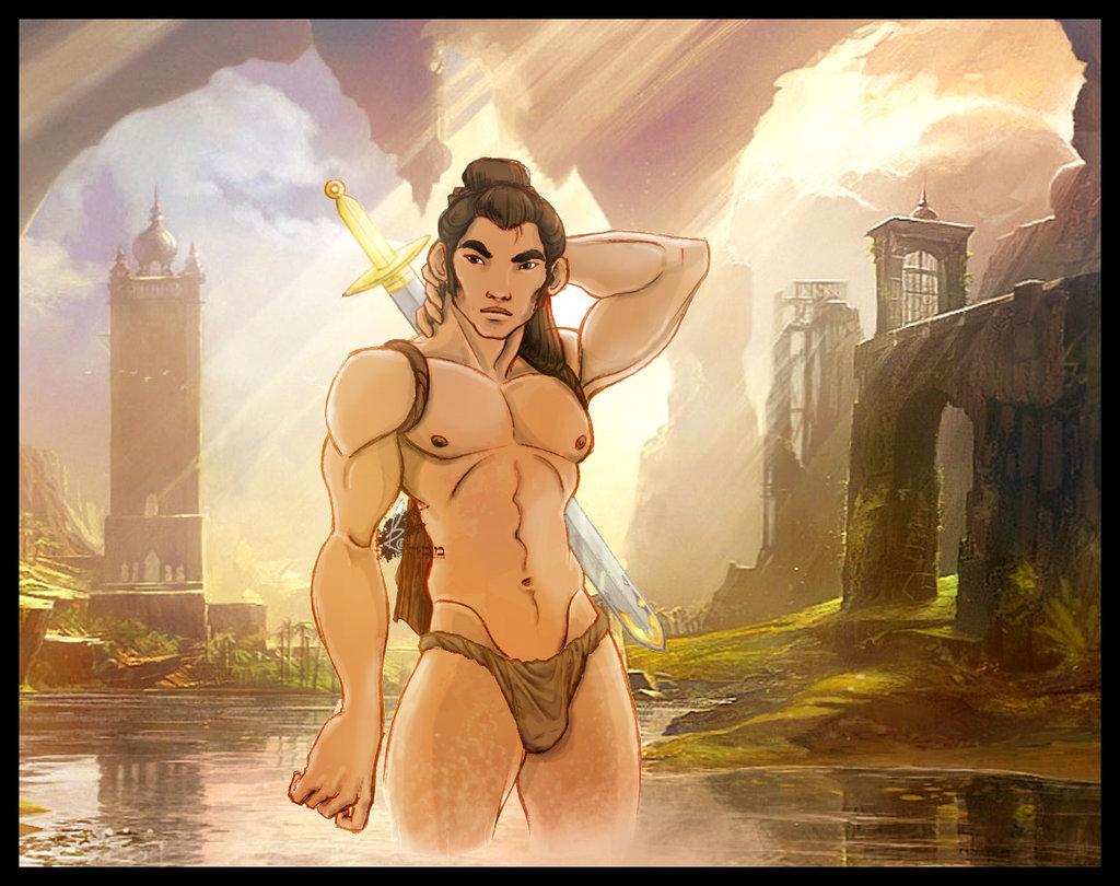 The Warrior by legendg85 Clips; Nude Black Milf nude black gay