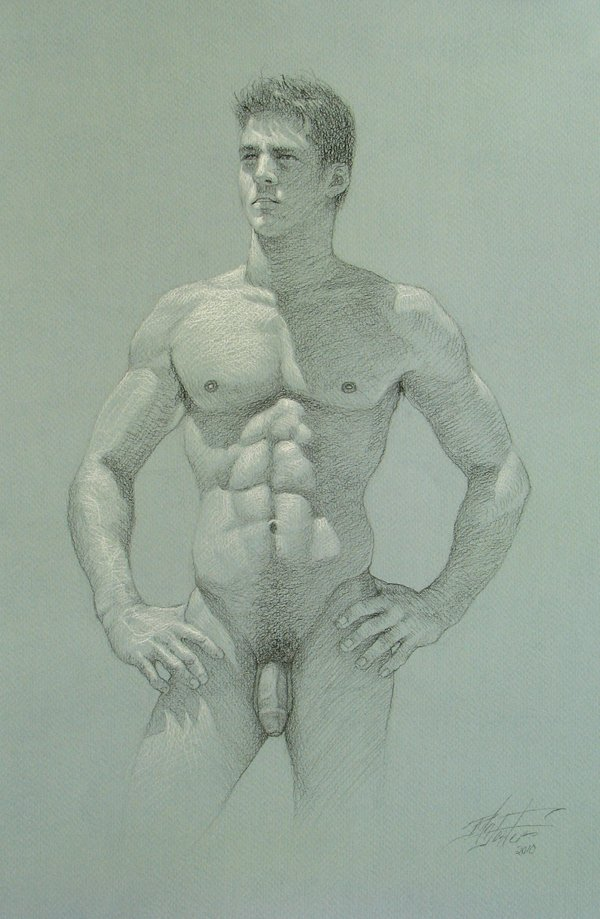nude male love drawings