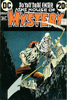 House of Mystery v1 #209 dc comic book cover art by Bernie Wrightson