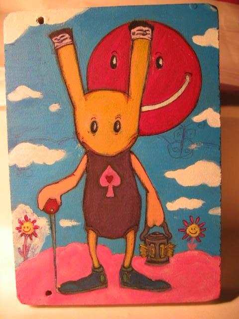 rabbit with lantern