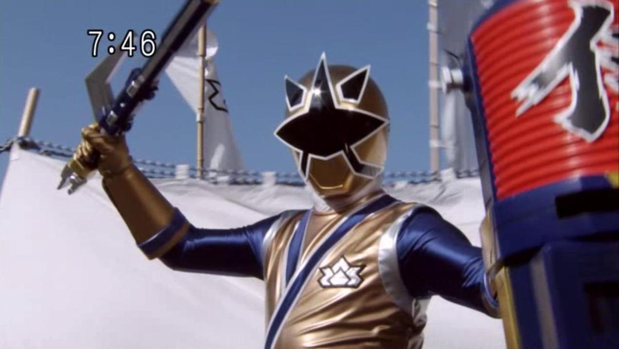 Samurai Sentai Shinkenger/Power Rangers Samurai Build.