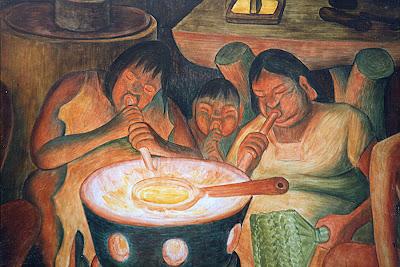 Ojomachin metalurgos mexicanos mural de diego rivera en for City college of san francisco diego rivera mural