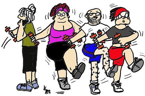 Hacer ejercicio dibujos - Imagui