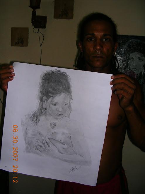 Retrato hecho por Javier Arias