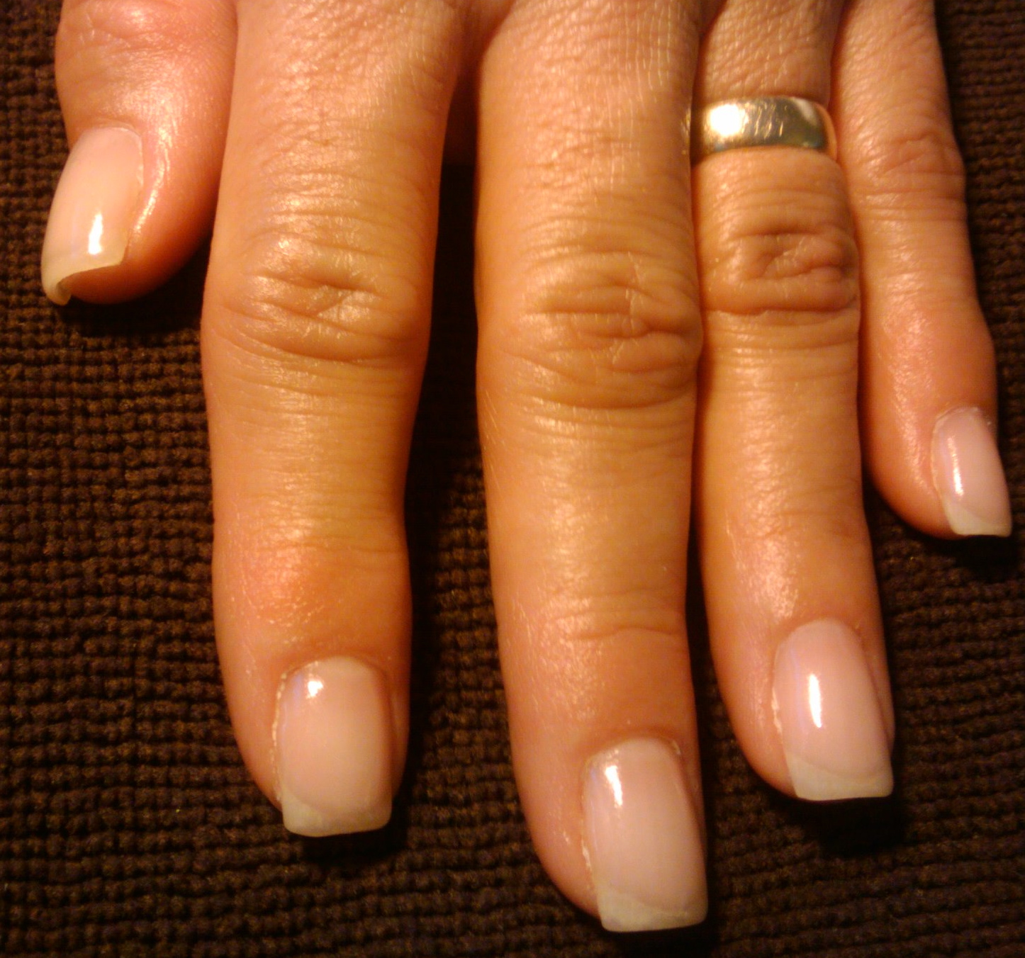 Let\'s make your nails pretty: Danielle\'s Natural Gel Overlay