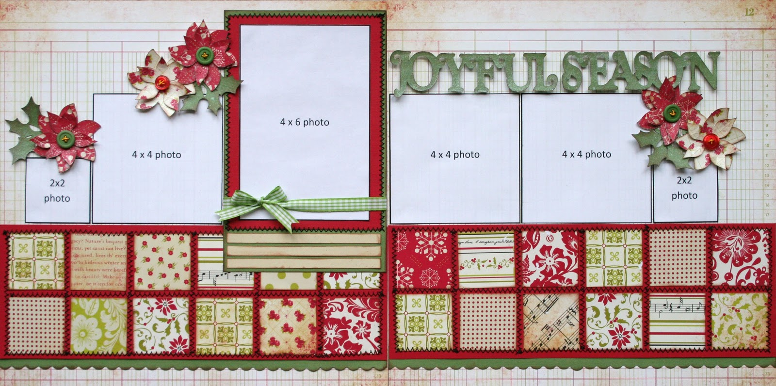 1000 images about scrapbooking christmas on pinterest for Christmas layout ideas