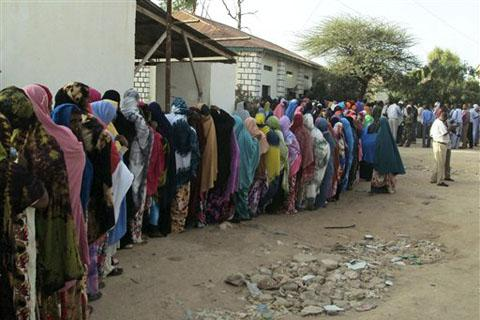 In Somalia, Presidential Election With Few Voters
