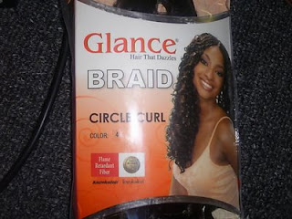 Crochet braids i plan to leave them in for about 6 weeks luv my braids so i used a brand called model model glance in the circle curl braiding hair ccuart Gallery