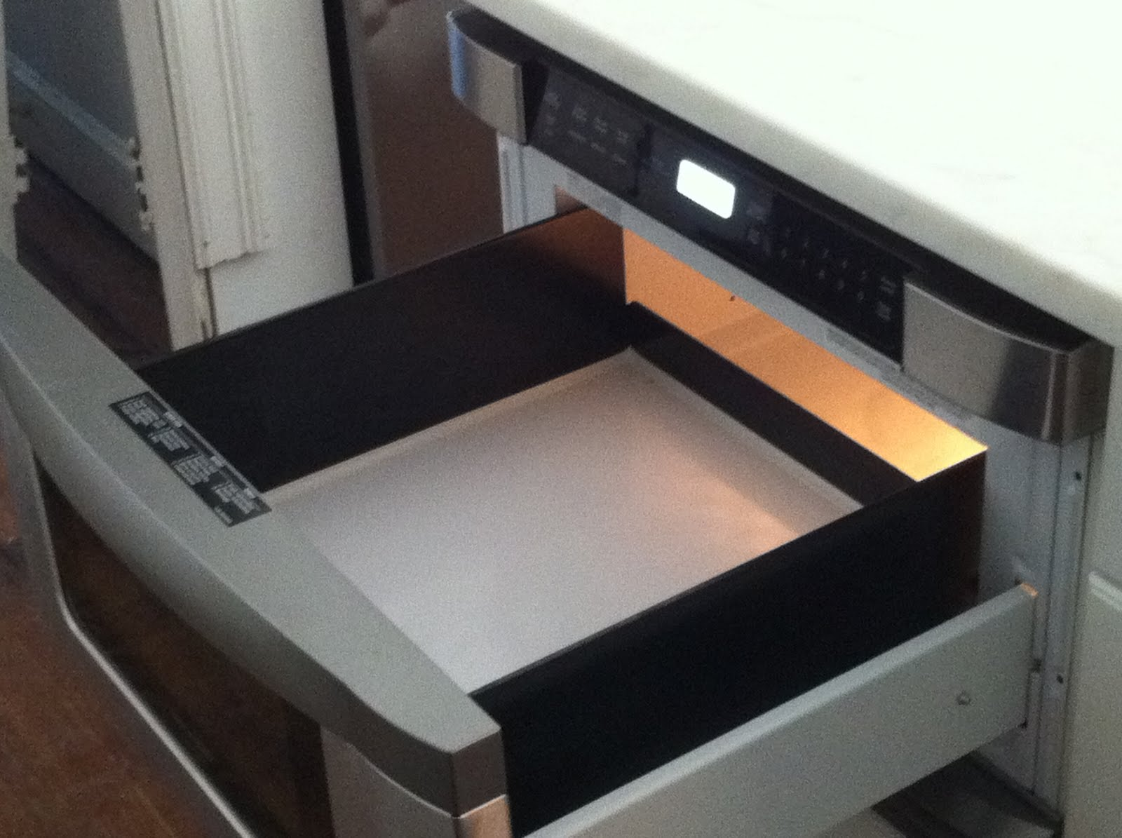 One thing we did not realize immediately was that this dishwasher