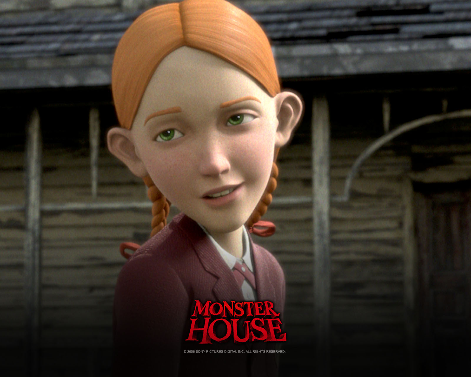 Saturday serial monster house halloween horror for kids for Classic house 2006