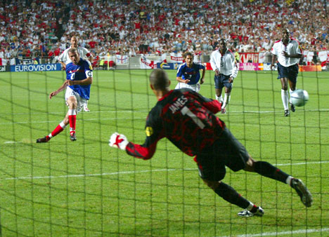 Fiinal Maçı Penaltı Kurtarma