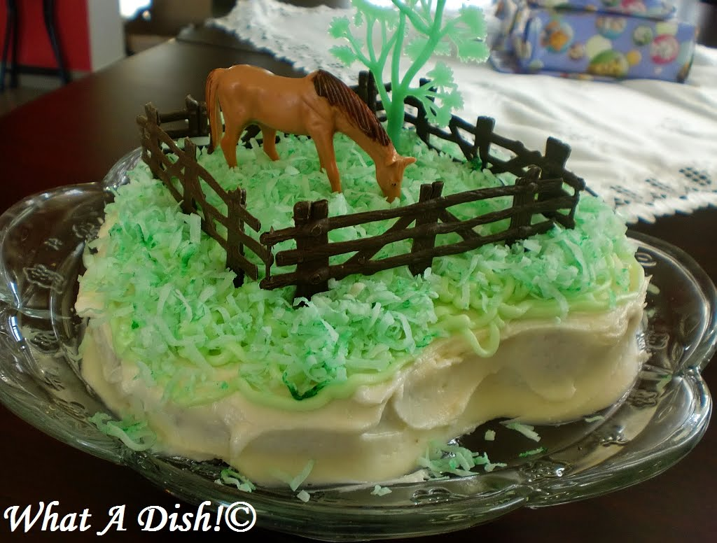 What A Dish Its a Horse of Course Birthday Cake