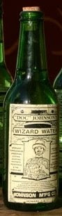 Green Wizard Water bottle