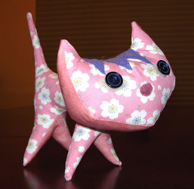 Pink Pointy Kitty