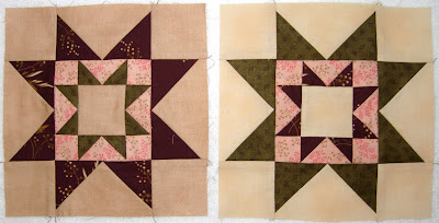 Greenpiece, pieced block 4