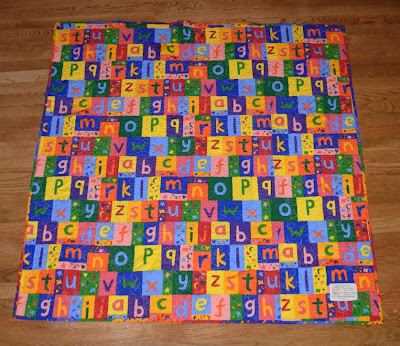 Maisy quilt back