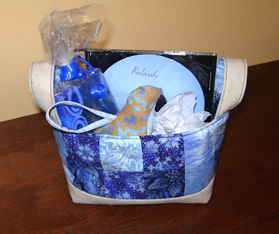 assembled gift basket